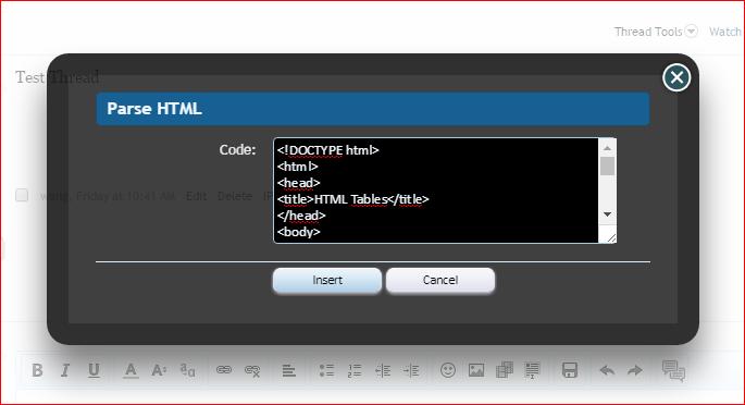 HTML BB Code XenForo 1 Add-on — ThemeHouse