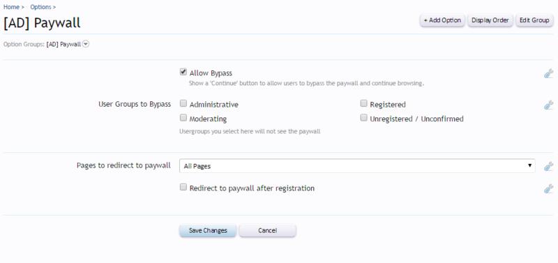 Paywall XenForo 1 Add-on — ThemeHouse