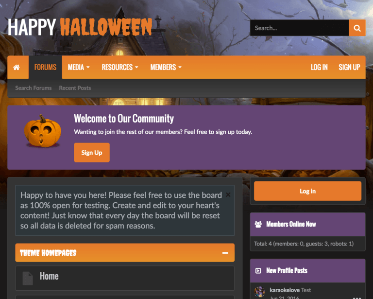 UI.X Halloween